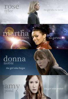 Companions. One of the reasons I love DW is that becoming a companion can happen to anyone. The shop girl with no A levels, the med student, the temp, the little girl who prays to Santa.
