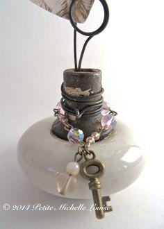 Vintage Door Knob Inspiration Holder by PetiteMichelleLouise