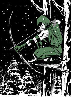 Green Arrow by Michael Walsh