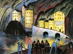 The Athenaeum - The Living and the Dead (Marianne von Werefkin - )