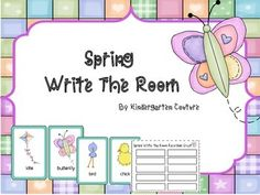 "This  "" spring"" write the room pack contains 24 spring pictures, only 3  are Easter related. There is a recording sheet for 10 words, so you have enough pictures for 2 weeks or you can copy the recording sheet to have a total of 20 words.  There is a writing sheet included to have the students write two or three sentences using the words."