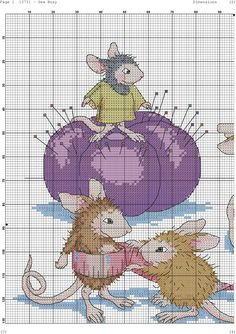 Sew Busy House Mouse Designs