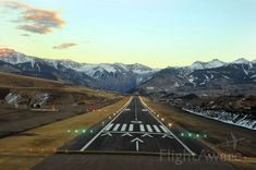 Runway 9 Telluride Regional Airport Highest Commercial Airport in the United States Elevation: 9070 ft.