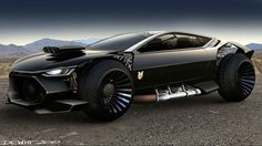 Ford Mad Max Interceptor. Wicked wheels.