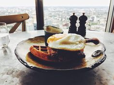 [I Ate] Duck & Waffle #recipes #food #cooking #delicious #foodie #foodrecipes #cook #recipe #health