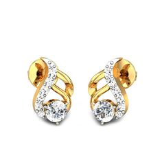 85ad27616 36 best Diamond Earrings images in 2018 | Diamond solitaire earrings ...