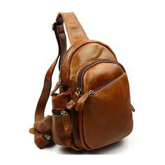 DRF Vintage Genuine Leather Cross Body Satchel Messenger Shoulder Bag BG-192  (Brown) f06f298448578