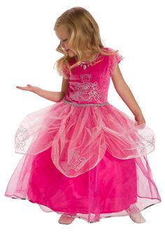FANCY Pink Princess Dress Up Costume