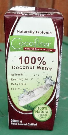 Cocofina 100% Coconut Water