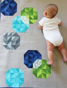 "Lovely ""Bubbles"" quilt from V and Co."