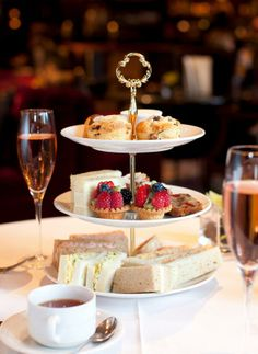Afternoon Tea at the Bacchus, Wedgewood Hotel Spa
