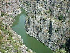 The Rio Duero, which marks the borderline between Spain and Portugal. It is so beautiful here!