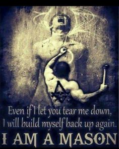 Never doubt, when needed, to hit any human mutation, with no mercy, never at all, and with all your strength strait within the heart, to kill the inhumanness everywhere it possesses any space! Masonic Order, Masonic Art, Masonic Lodge, Masonic Symbols, Masonic Signs, Freemason Symbol, Freemason Tattoo, Prince Hall Mason, Cultura General