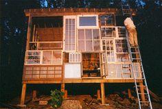 ...Amores Bohemios...: La casa de las ventanas recicladas de Nick Olson & Lilah Horwith