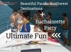 Bachelor/Bachelorette Party + Beautiful Pacific Northwest Destinations = Ultimate Fun  www.pacificnorthwestyachtcharters.com/portfolio-view/proposal-bachelorette-bachelor-wedding-anniversary  #bachelorparty #bacheloretteparty #pacificnorthwestdestinations #destinations #pacificnorthwest #yachtcharters #yachts