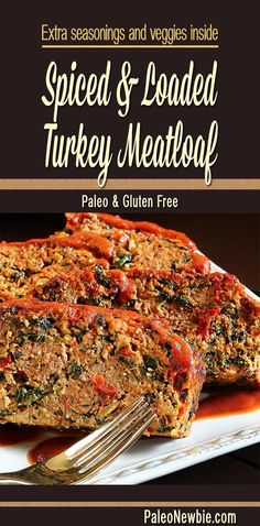 No mediocre meatloaf here...this one's packed with flavor, wholesome veggies, and topped with a tangy sauce. Try this easy recipe. (Make it with turkey or beef!)