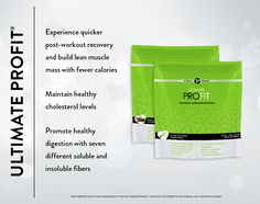 "Chocolate or creamy vanilla.   Ultimate ProFIT is powered by: •Sustain-It™, a smarter protein blend for maximum bioavailability in every gram  •FITzyme™, a cutting-edge blend of enzymes, helps maximize your body's ability to absorb Sustain-It™.  •FITboost™, an antioxidant blend of mood-elevating ""superfoods"" for immune system health.  •Non-hormonal whey and soy proteins  •Natural, whole-food ingredients with only 100 calories per serving!"