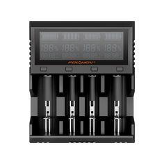 Folomov A4 LCD Display High Current Quick Charge Inteligente Bateria Carregador 4Slots