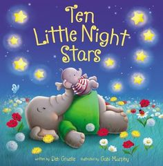 Ten Little Night Stars by Deb Gruelle Good Books, Books To Read, Counting Songs, Counting Sheep, Gabi, John Kerry, Free Pdf Books, Stars At Night, Best Selling Books