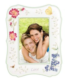 Look at this Butterfly Meadow Everyday Celebrations Love Frame on #zulily today!