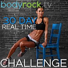 30 Day I Real Time Challenge Day #1 I really want to do this. She has amazing results