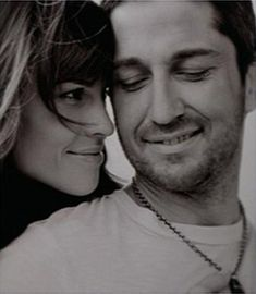 Gerard Butler and Hilary Swank in P.S. I Love You.....how she loves in this movie makes my heart so happy