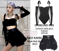 Blackpink Fashion, Kpop Fashion Outfits, Celebrity Outfits, Stage Outfits, Korean Outfits, Retro Outfits, Dance Outfits, Stylish Outfits, Korean Fashion