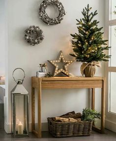 I could use letters next to th3 christmas tree with fairy lights intertwined