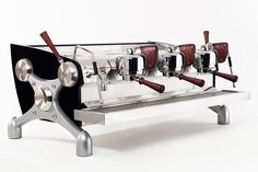 Now in stock: Slayer espresso machines in Single, 2-, and 3-group configurations.