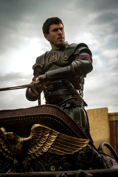 Messala - Toby Kebbell in Ben Hur (2016).