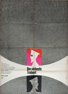 The Seventh Companion (Grigori Aronov and Aleksei German, 1967) East German design by Otto Kummert