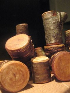 more natural wood blocks. 4:1 ratio olive oil to beeswax for polishing after sanding
