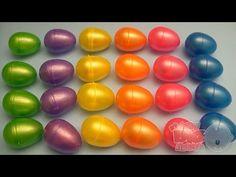 Play Doh BUBBLE GUPPIES SURPRISE EGGS Stacking Cups Pocoyo Disney Frozen HelloKitty Kinder PlayDough - YouTube