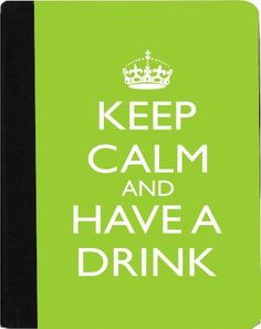Rikki KnightTM Keep Calm and have a Drink - Lime Green Color Kindle® FireTM Notebook Case Black Faux Leather - Unisex (Not for Kindle Fire HD) by Rikki Knight. $48.99. The Kindle® FireTM Notebook Case made out of Black Faux Leather is the perfect accessory to protect your Kindle® FireTM in Style providing the ultimate protection your Kindle® FireTM needs The image is vibrant and professionally printed - The .gif Kindle® FireTM Case is truly the perfect gift...