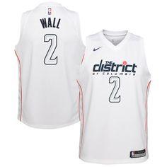 1c2bf68fb John Wall Washington Wizards Nike Youth Swingman Jersey White - City Edition