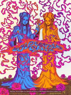 Widespread Panic #gigposter by James Flames.