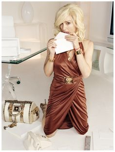 #Madonna, by #MarioTestino for the #Versace 2004 photoshoot. www.madonna.com
