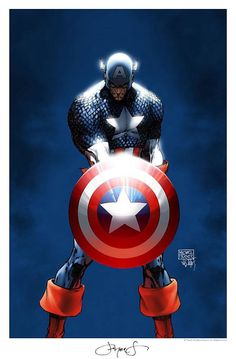 Captain America - Michael Turner RIP