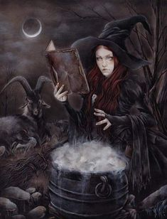 Halloween Imagem, Gothic Fantasy Art, Gothic Fairy, O Ritual, Witch Characters, Beautiful Witch, Witch Art, Witch Aesthetic, Salem Witch Trials
