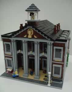 Brick Town Talk: Town Hall - LEGO Town, Architecture, Building Tips, Inspiration Ideas, and more!