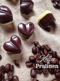 Die Teigfabrik - der Back- & Foodblog aus Günzburg : Schokoladiges Geschenk Kaffee - Pralinen