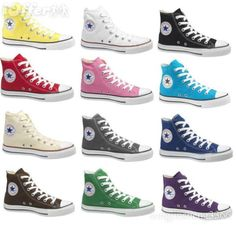 converse shoes all colors
