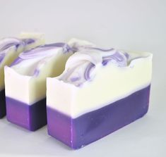 Lavender Soap All Natural Soap Bar Homemade Soap Cold Homemade Essential Oils, Soap Making Supplies, Shea Butter Soap, Lavender Soap, Vegan Soap, Lotion Bars, Cold Process Soap, Home Made Soap, Handmade Soaps