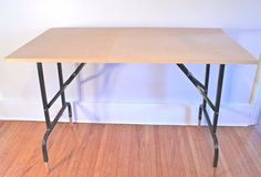 These detailed instructions on how I created my folding craft tables for my booth will show you exactly how to make your own table to fit your exact specifications.