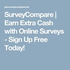 There are countless ways to make money online. Millions of websites offer online money making tips to readers so that they can earn extra cash money. Surveys For Money, Paid Surveys, Survey Money, Earn Extra Cash, Extra Money, Earn Money Online, Online Jobs, Online Survey, Survey Companies