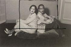 Maharaja and Maharanee of Indore.       Man Ray, 1927