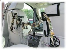 The Ultra Seat Rack Gun and Bow Holder for Trucks and SUVs   Bass Pro Shops I cant wait to buy one on my own so I can hunt deers with friends. HEEEEEYAWWWW