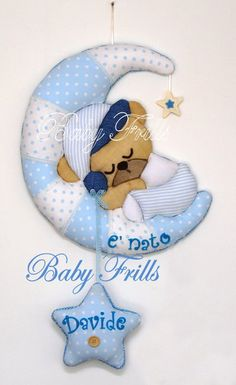 """Fiocco di nascita """"Orsetto dormiglione"""""""