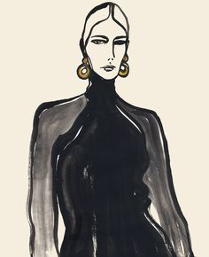 An illustration of lady round earrings (scheduled via http://www.tailwindapp.com?utm_source=pinterest&utm_medium=twpin&utm_content=post113511647&utm_campaign=scheduler_attribution)
