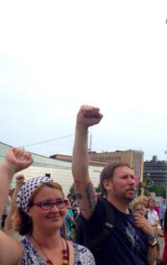 Gaza-mielenosoitus, kesä 2014 #freepalestine